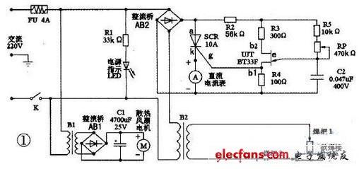 自制微型交流电焊机